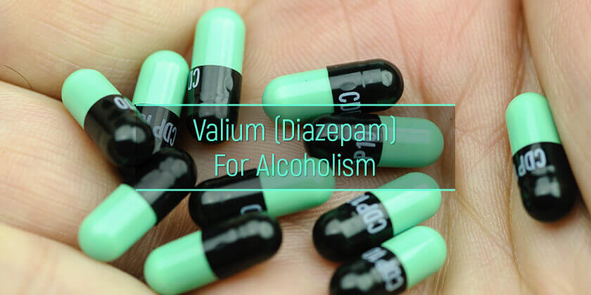 Valium for alcoholism treatment